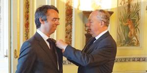 Eduardo Diniz condecorado com Ordem do Mérito Agrícola